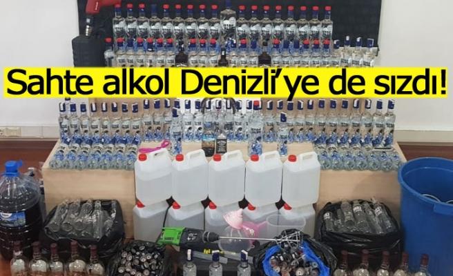 Sahte alkol Denizli'ye de sızdı!