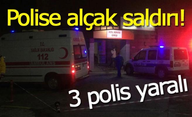 Polise alçak saldırı!