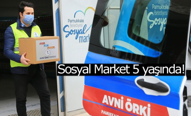 Sosyal Market 5 yaşında!