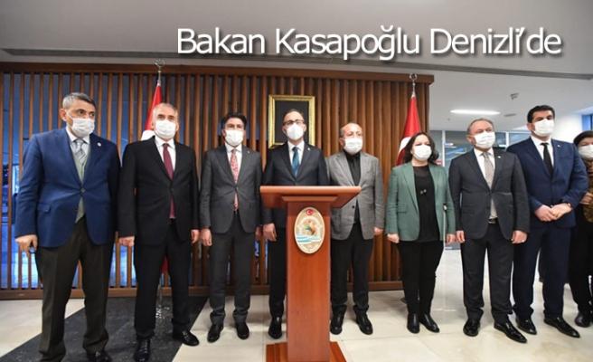 Bakan Kasapoğlu Denizli'de