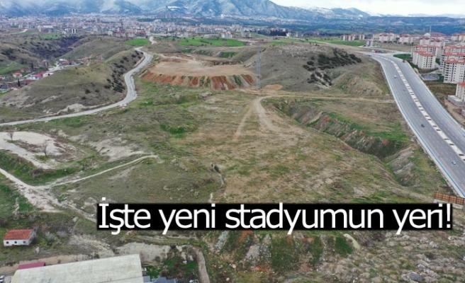 İşte yeni stadyumun yeri!