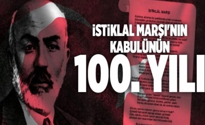 Denizli protokolünden İstiklal Marşı'nın 100'üncü yılı mesajları