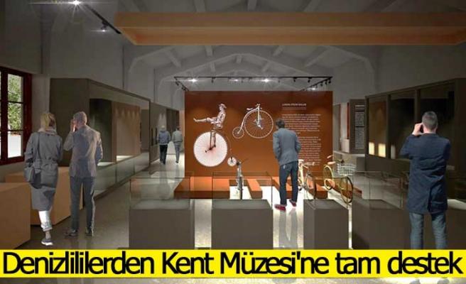 Denizlililerden Kent Müzesi'ne tam destek