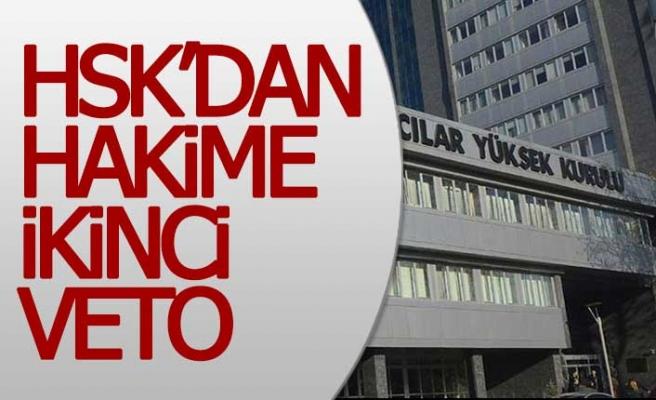 FETÖ'den uzaklaştırılan eski Buldan hakimine HSK'dan ikinci veto