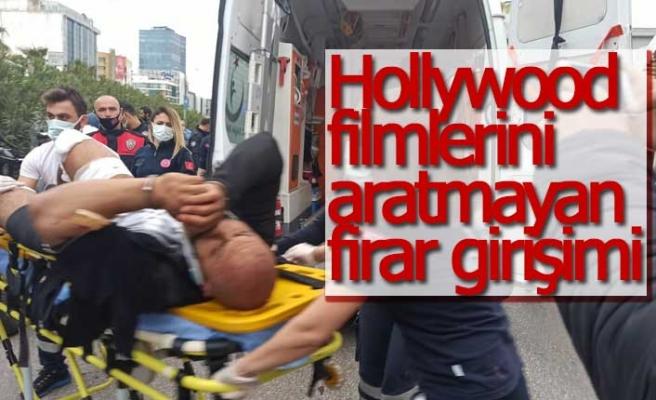 Hollywood filmlerini aratmayan firar girişimi
