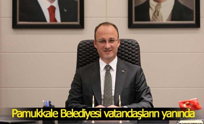 Pamukkale Belediyesi tam kapanmada vatandaşların yanında