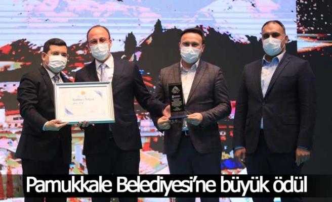 Pamukkale Belediyesi'ne büyük ödül