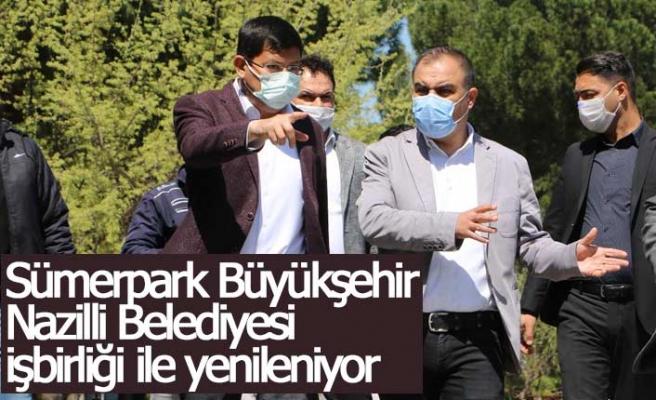 Sümerpark Büyükşehir Nazilli Belediyesi  işbirliği ile yenileniyor