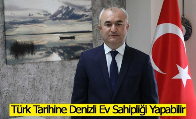 Yusuf Garip'ten Denizli için Dev Türk Tarih Müzesi Ve Parkı Önerisi