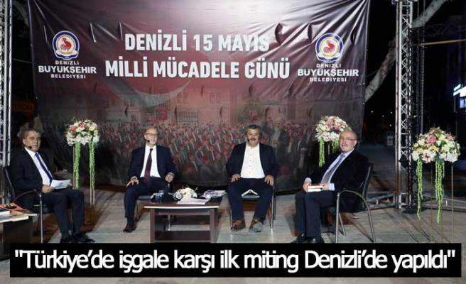 15 Mayıs Milli Mücadele Günü tüm detayları ile konuşuldu