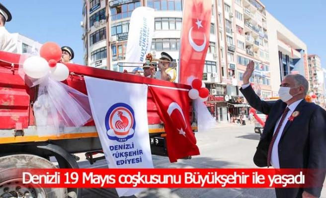 Denizli 19 Mayıs coşkusunu Büyükşehir ile yaşadı