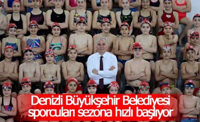 Denizli Büyükşehir Belediyesi sporcuları sezona hızlı başlıyor