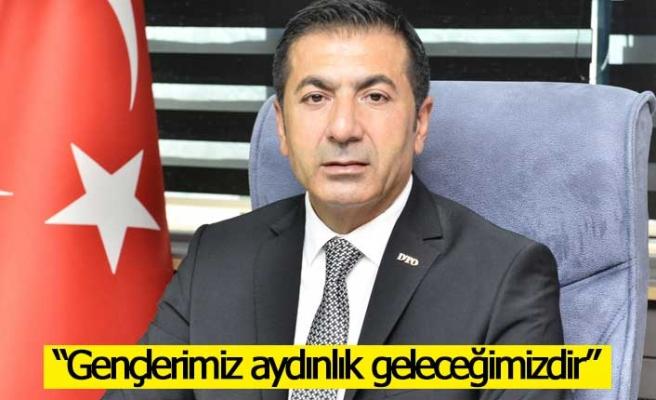 """DTO Başkanı Erdoğan; """"Gençlerimiz aydınlık geleceğimizdir"""""""