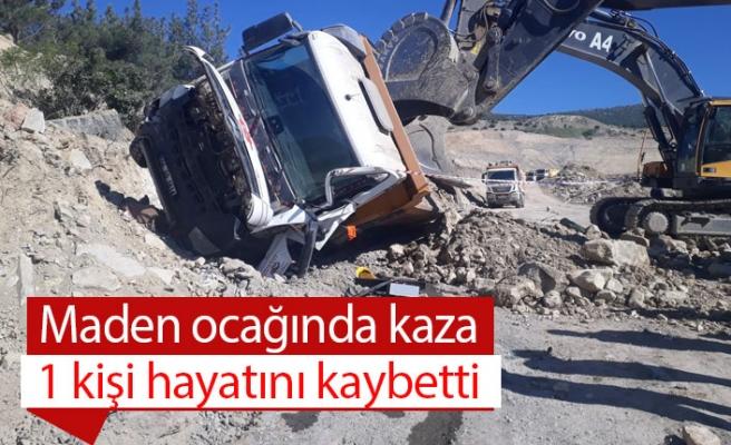 Maden ocağında kaza; 1 ölü