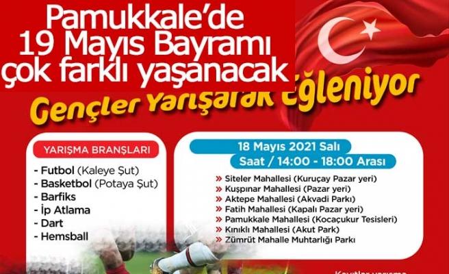 Pamukkale'de 19 Mayıs Bayramı çok farklı yaşanacak