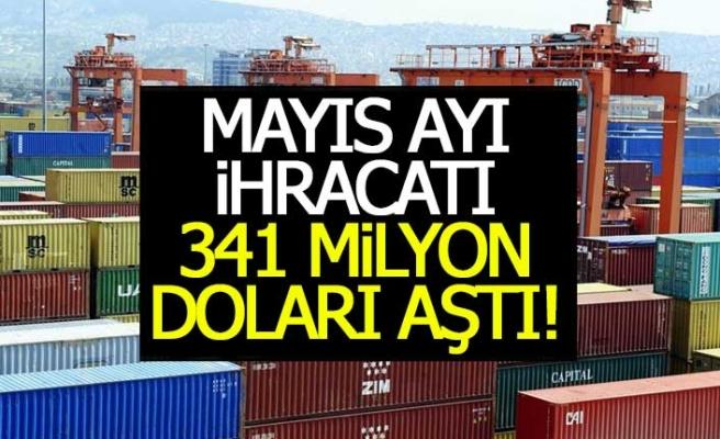 Denizli'nin mayıs ayı ihracatı 341 Milyon Doları aştı!