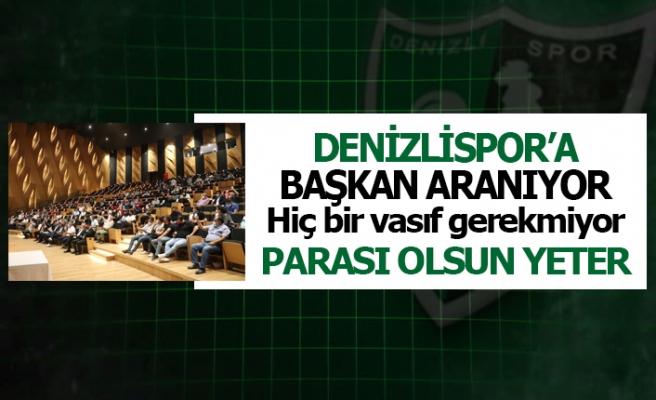 Denizlispor'a başkan aranıyor