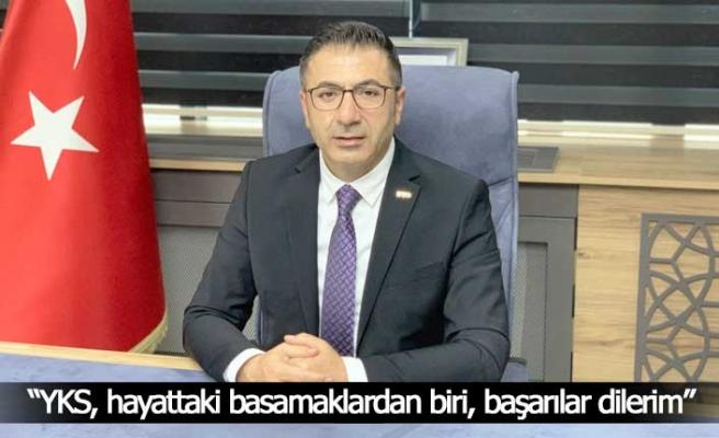 """DTO Başkanı Erdoğan; """"YKS, hayattaki basamaklardan biri, başarılar dilerim"""""""
