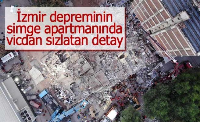 İzmir depreminin simge apartmanında vicdan sızlatan detay