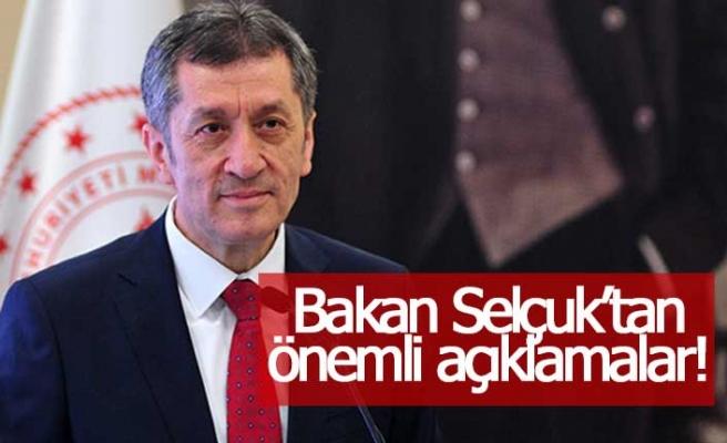 Milli Eğitim Bakanı Ziya Selçuk'tan önemli açıklamalar!