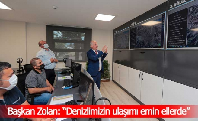 """Başkan Zolan: """"Denizlimizin ulaşımı emin ellerde"""""""