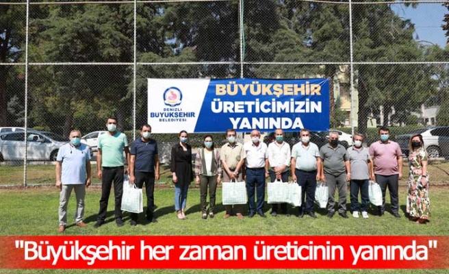 Büyükşehir'den 1.100 arıcıya ekipman desteği