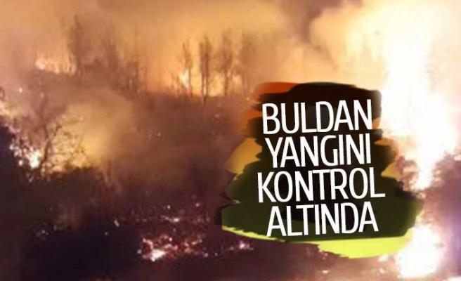 Denizli'deki yangın kontrol altında