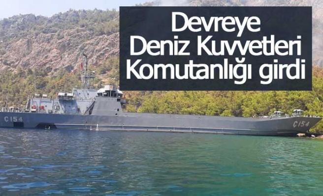 Devreye Deniz Kuvvetleri Komutanlığı girdi