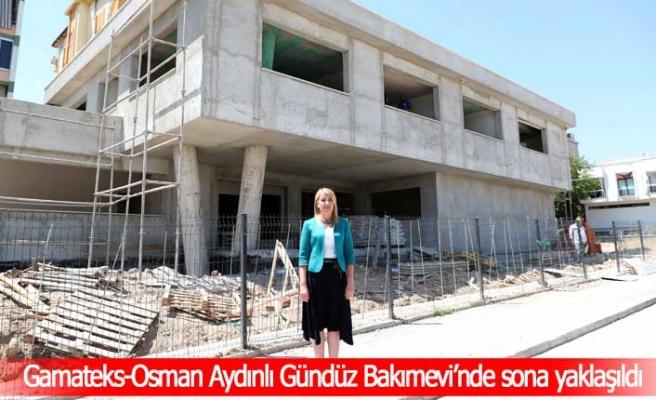 Merkezefendi Belediyesi  Gamateks-Osman Aydınlı Gündüz Bakımevi'nde sona yaklaşıldı