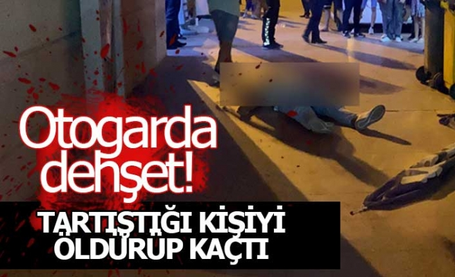 Otogarda kanlı cinayet