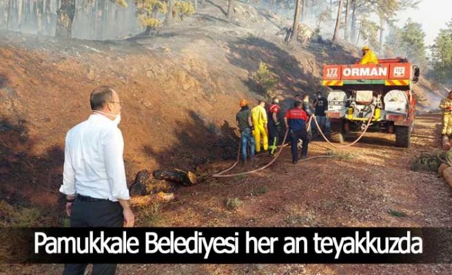 Pamukkale Belediyesi her an teyakkuzda