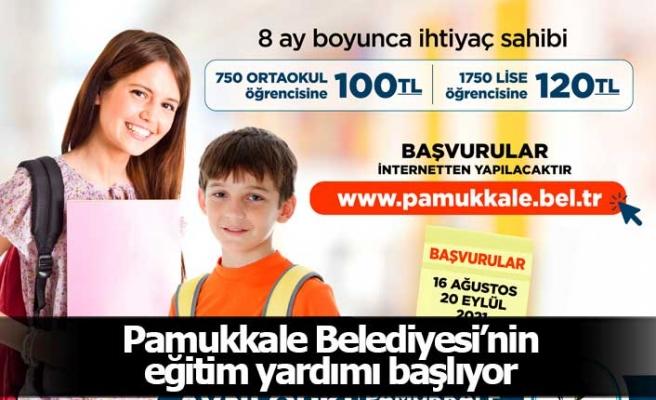 Pamukkale Belediyesi'nin eğitim yardımı başvuru tarihleri belli oldu