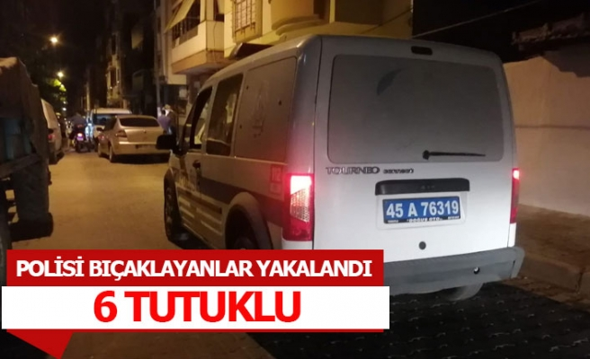 Sokak ortasında polisi bıçakladılar!
