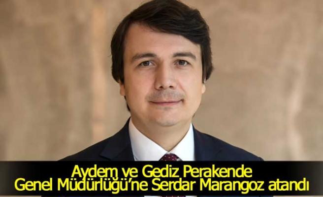 Aydem ve Gediz Perakende Genel Müdürlüğü'ne Serdar Marangoz atandı
