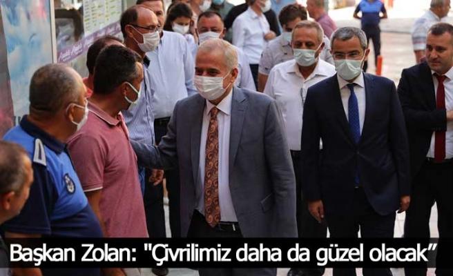 """Başkan Zolan: """"Çivrilimiz daha da güzel olacak"""""""