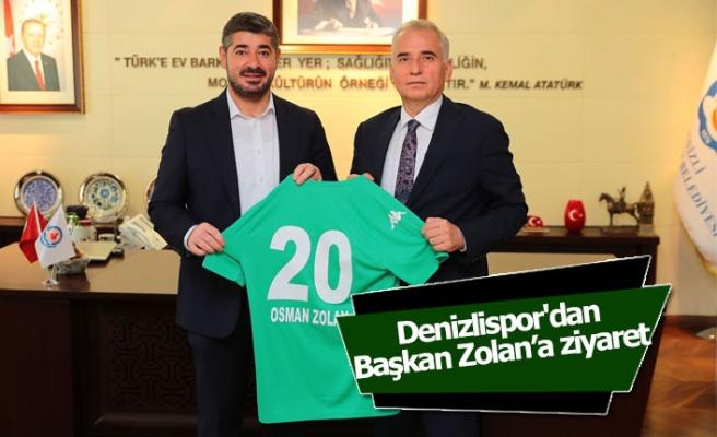 Denizlispor'dan Başkan Zolan'a ziyaret