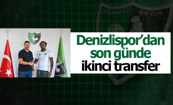Denizlispor'dan son günde ikinci transfer