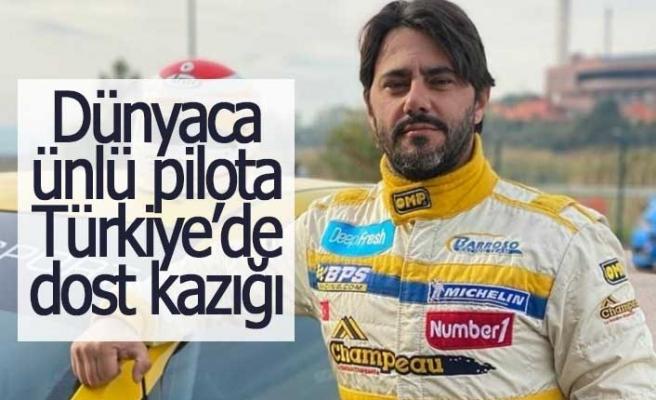 """Dünyaca ünlü yarışçı """"Türkiye"""" de kazıklandı"""