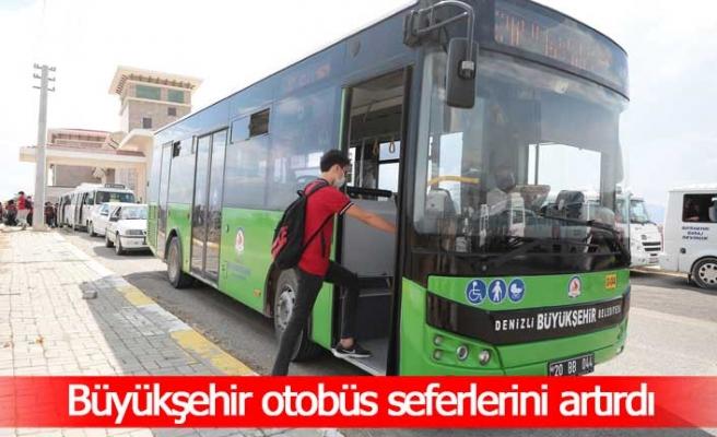 Otobüslerde hijyen seferberliğine devam