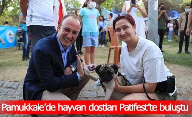 Pamukkale'de hayvan dostları Patifest'te buluştu