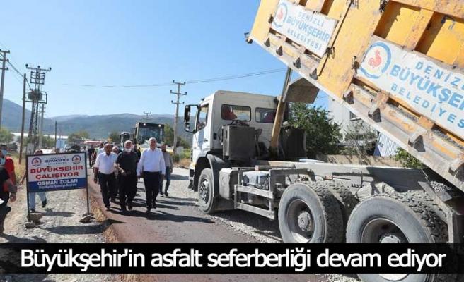 Serinhisar-Yatağan'ın ulaşım sorununa Büyükşehir'den neşter