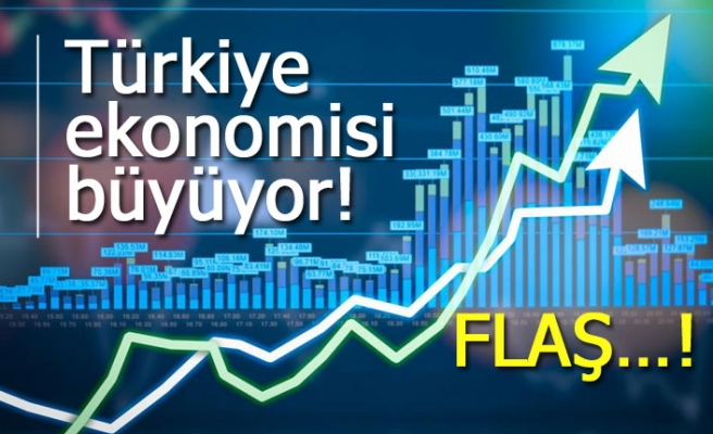 Türkiye ekonomisi büyüyor!