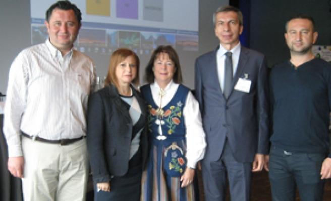 Büyükşehir heyeti Norveç'te AER toplantısına katıldı