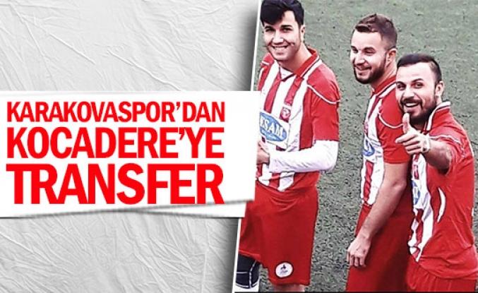 Karakovaspor'danKocadere'ye transfer