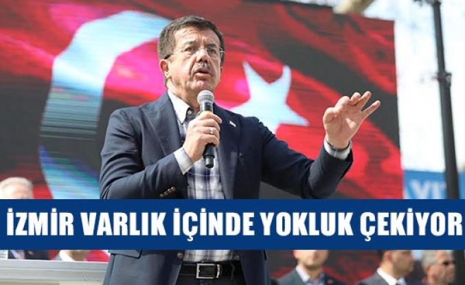 İzmir varlık içinde yokluk çekiyor