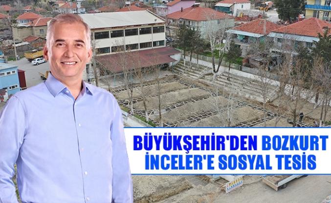 Büyükşehir'den Bozkurt-İnceler'e sosyal tesis