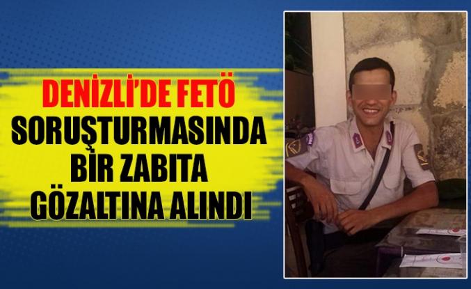 Denizli'de FETÖ soruşturmasında bir zabıta gözaltına alındı