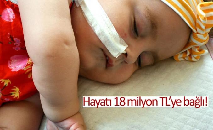 Hayatı 18 milyon TL'ye bağlı!