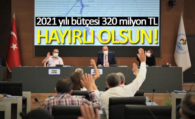 2021 yılı bütçesi 320 milyon TL