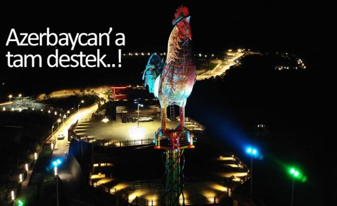 Azerbaycan'a tam destek!